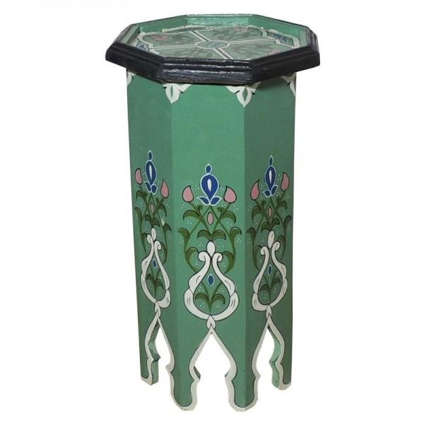 Marookanischer Beistelltisch Tola Grün