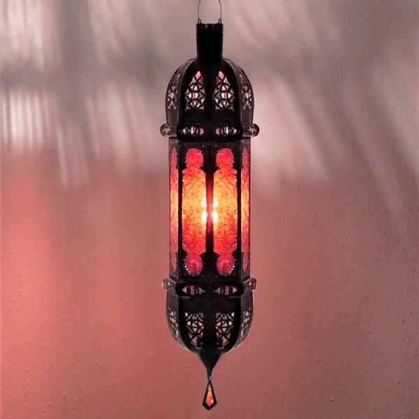 Orientalische Hängelampe Shadi Rot