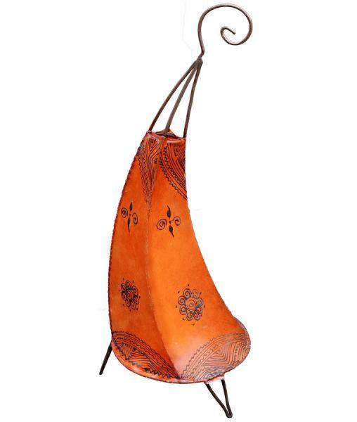 Orientalische Stehlampe Maya Orange 70