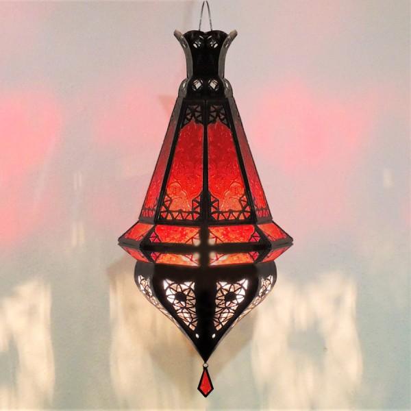 Orientalische Hängeleuchte Amal Rot