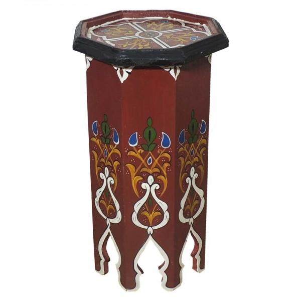 Beistelltisch aus Marokko Tola Rot