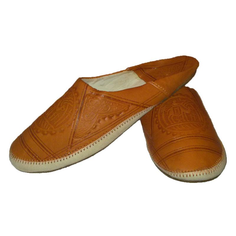 Orientalische Schuhe Amazigh Orange