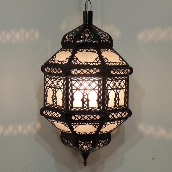 Orientalische Deckenlampe Titia Biban Weiß