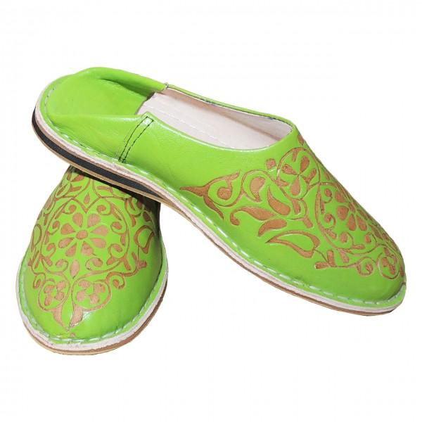 Orientalische Schuhe Warda Hand geschnitzt