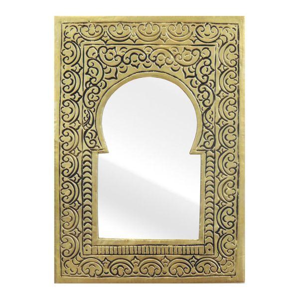 Marokkanischer Spiegel Messing