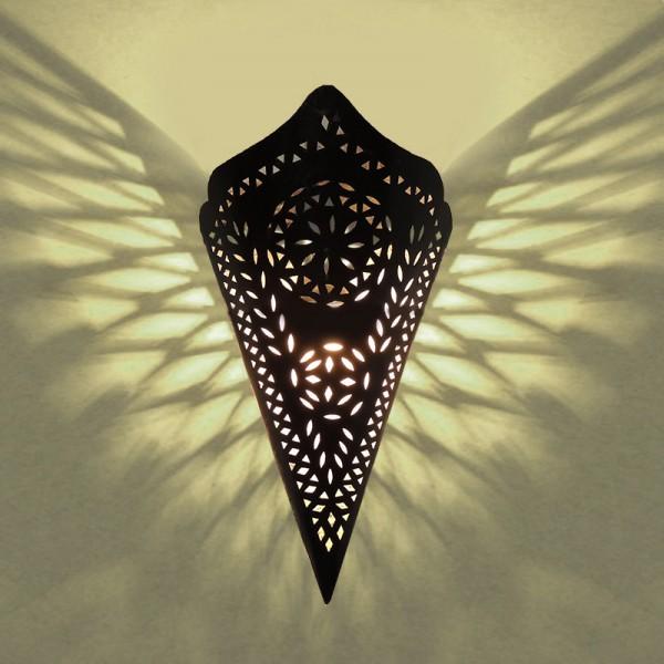 Orientalische Wandlampe Metall Wisal