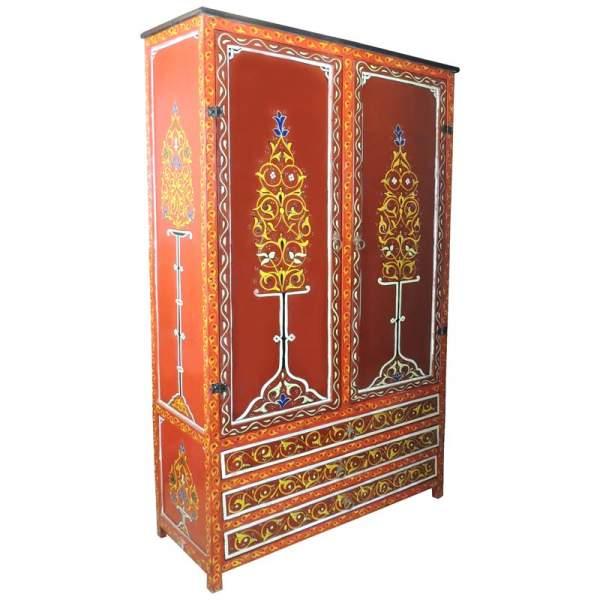 Orientalischer Schrank Nohayla Rot