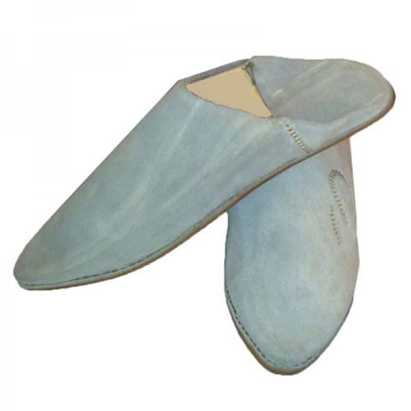 Orientalische Schuhe aus echtem Wildleder