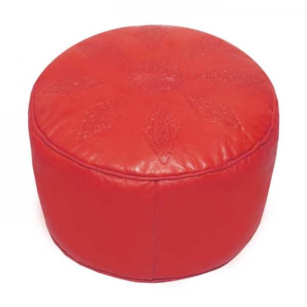 Marokkanisches Sitzkissen Nora Rot