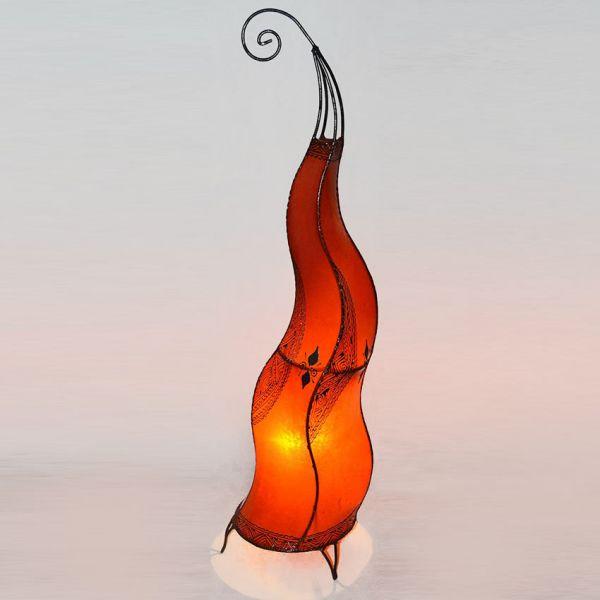 Orientalische Stehlampe Faras Rot 100