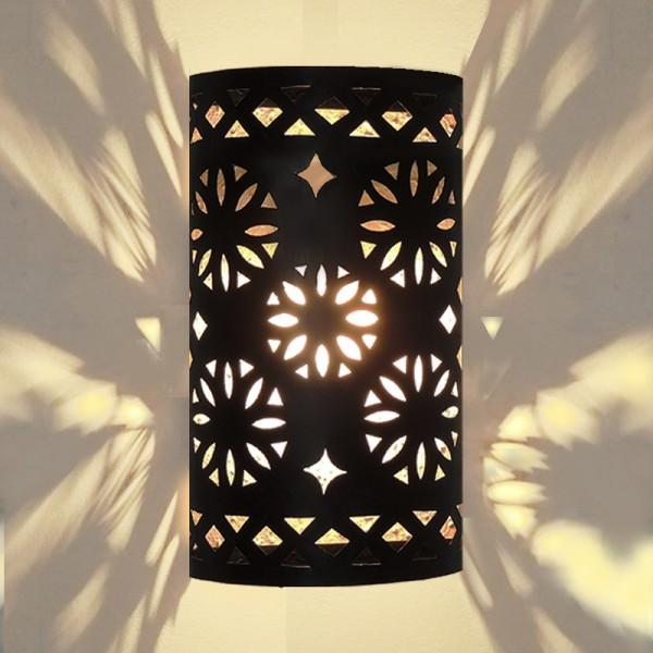 Orientalische Wandleuchte Metall Anba