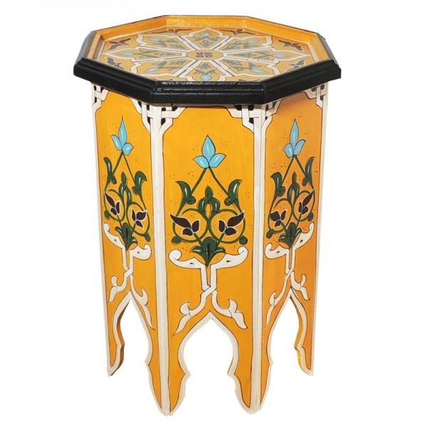 Orientalischer Beistelltisch Warda Gelb