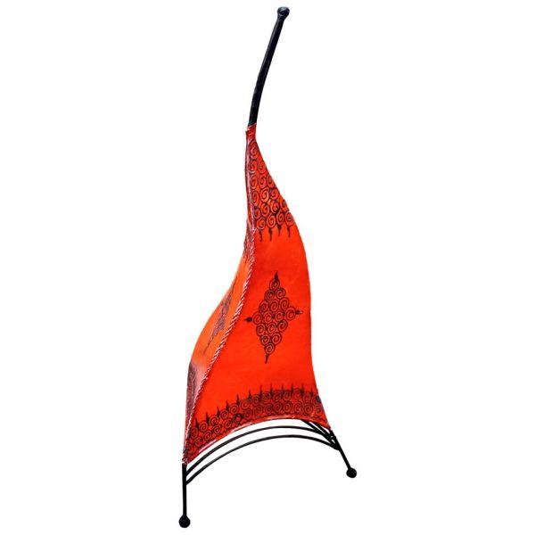 Orientalische Stehlampe Paris Rot 80