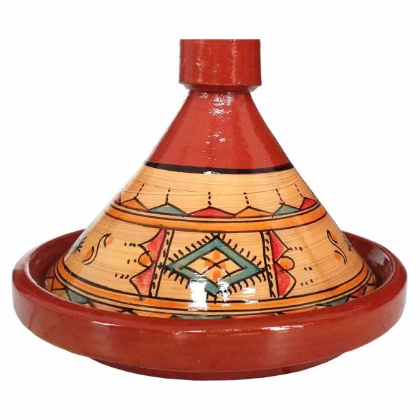 Tajine Amazigh 26 cm glasiert