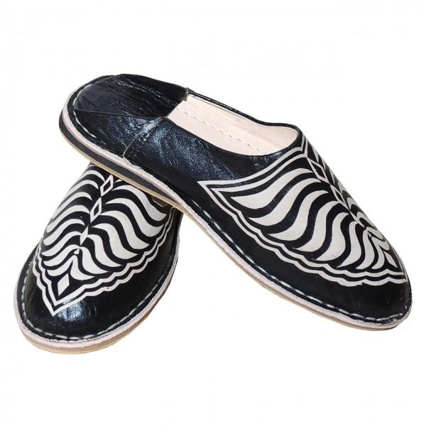 Orientalische Schuhe für Damen Schwarz