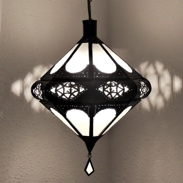 Marokkanische Deckenlampe Kenza Weiß