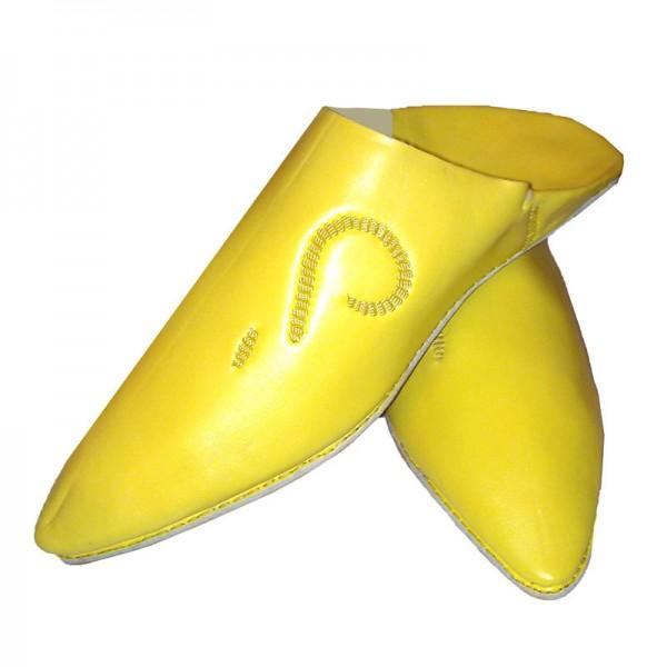 Orientalische Schuhe Fassi Gelb