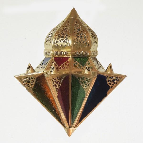 Orientalische Wandleuchte Tayma Gold