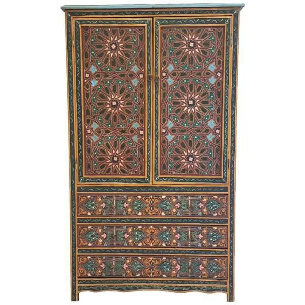 Arabischer Schrank Zawak Ornamente