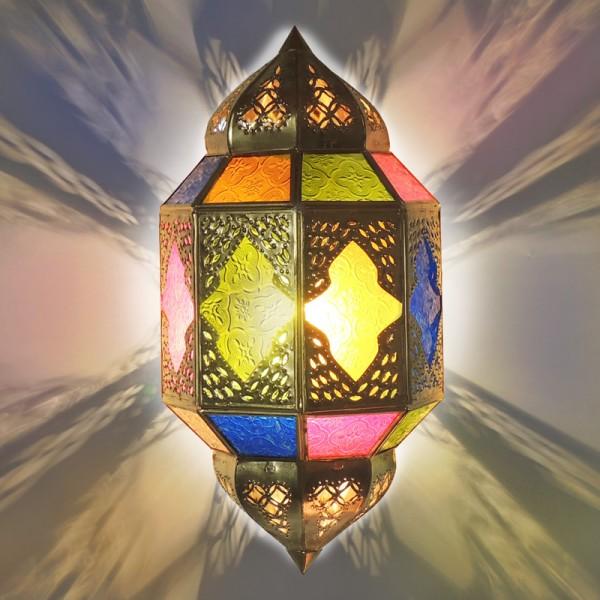 Orientalische Wandlampe Titia Gold