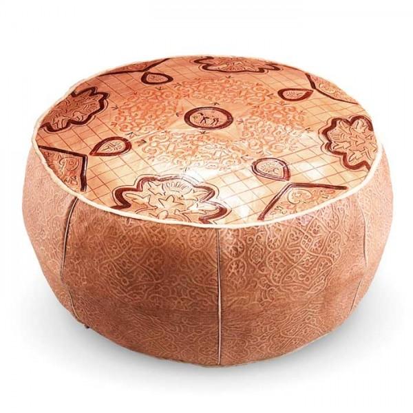 Marokkanisches Bodenkissen Leder