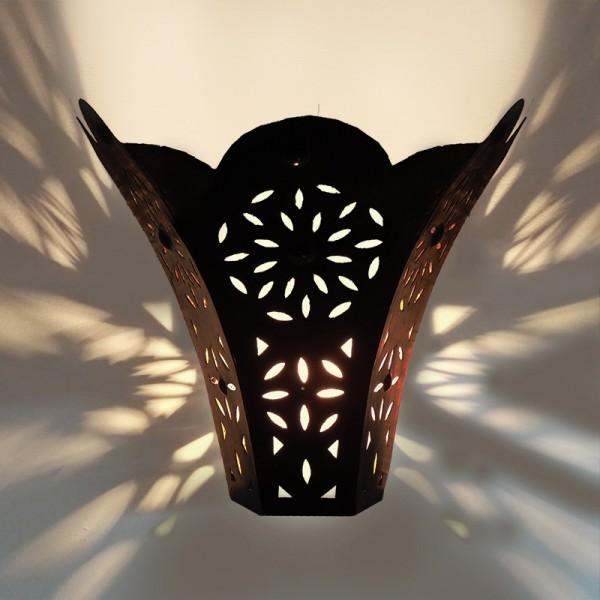 Marokkanische Wandlampe Metall Tana