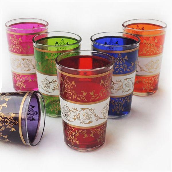 Teegläser aus Marokko Safrou 6 Stück