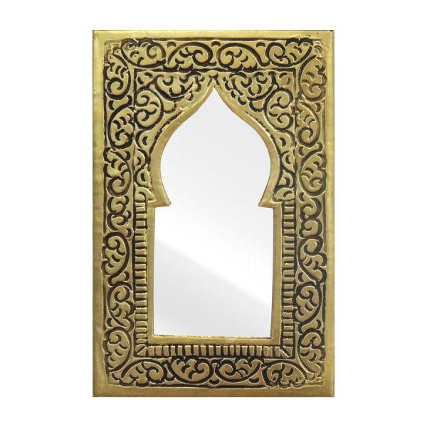 Orientalischer Messing Spiegel Mini