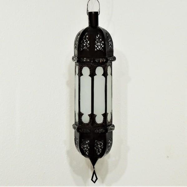 Orientalische Hängeleuchte Shadi Weiß